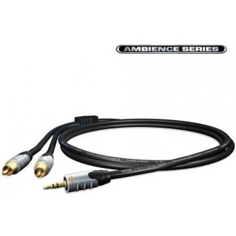 Cablu Hicon Ambience Series 2RCA-jack 3.5mm st.5m HIA-C2J3-0500