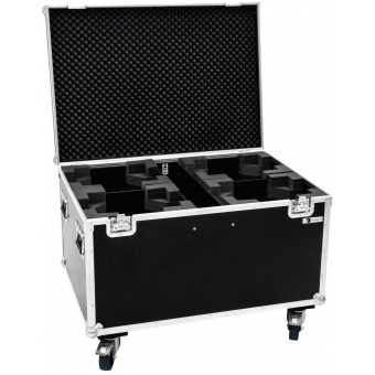 ROADINGER Flightcase 4x TMH-X12 with wheels #3