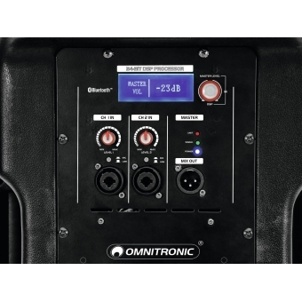 OMNITRONIC XKB-212A 2-Way Speaker, active, DSP #5