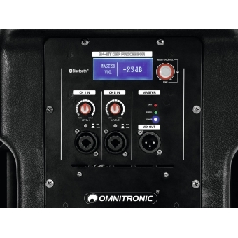 OMNITRONIC XKB-215A 2-Way Speaker, active, DSP #5
