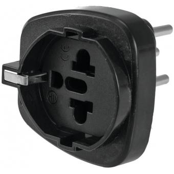 OMNITRONIC Adapter EU/CH Plug 10A bk #2