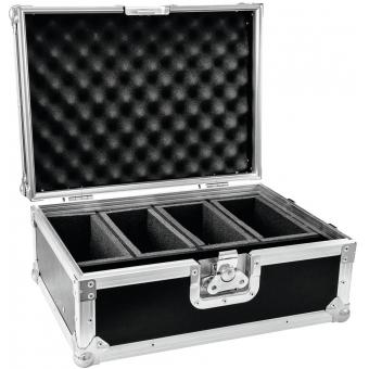 ROADINGER Flightcase 4x AKKU Flat Light Series #3