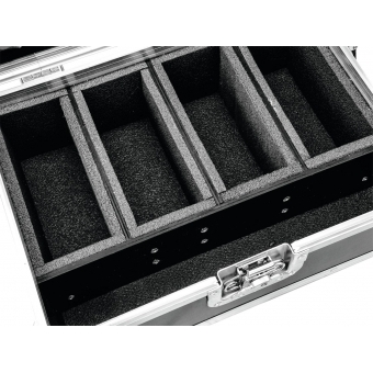 ROADINGER Flightcase 4x AKKU Flat Light 1 #4