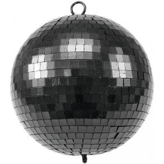 EUROLITE Mirror Ball 20cm black matt