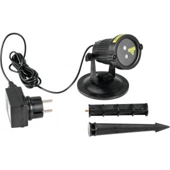 EUROLITE LAS-16 IP Garden Laser Dot RG