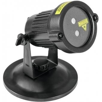 EUROLITE LAS-16 IP Garden Laser Dot RG #3