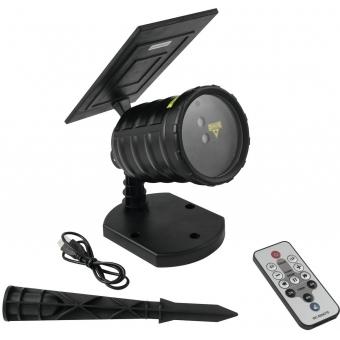 EUROLITE LAS-17 IP Solar Garden Laser Dot RG