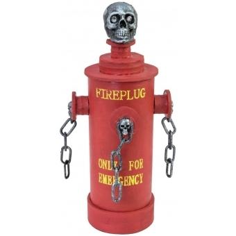 EUROPALMS Halloween Fire Hydrant, 28x13x13cm