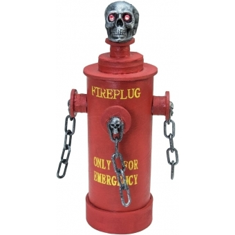 EUROPALMS Halloween Fire Hydrant, 28x13x13cm #2