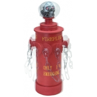 EUROPALMS Halloween Fire Hydrant, 28x13x13cm #4