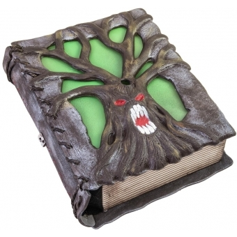 EUROPALMS Halloween Haunted Book, 27x22x8cm #1