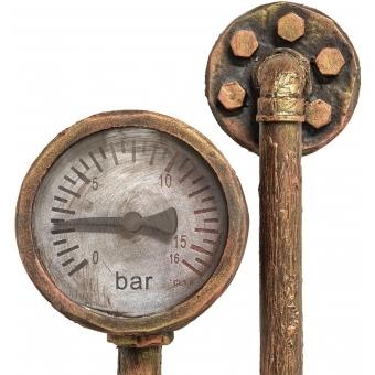 EUROPALMS Halloween Watermeter, rusty #3