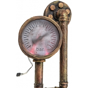 EUROPALMS Halloween Watermeter, rusty #4