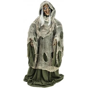 EUROPALMS Halloween Witch, green, 145x70x66cm