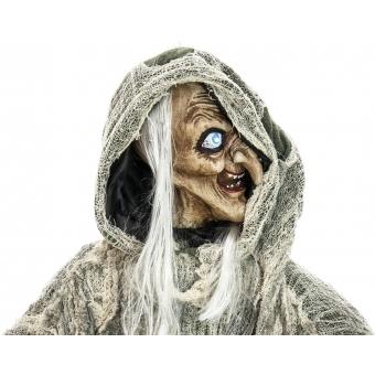 EUROPALMS Halloween Witch, green, 145x70x66cm #4