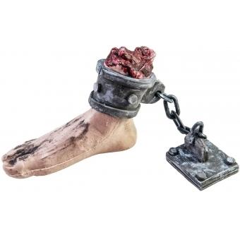EUROPALMS Halloween Foot with chain, 25x10x17cm