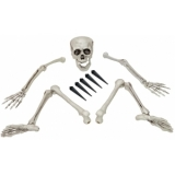 EUROPALMS Halloween Skeleton, multipart