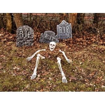 EUROPALMS Halloween Tombstone Set #4