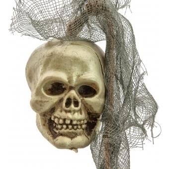 EUROPALMS Plastic Skull Garland, 100x6x6cm #3