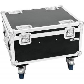 ROADINGER Flightcase 4x LED IP PAR 12x12W HCL
