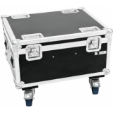 ROADINGER Flightcase 4x LED IP PAR 12x12W HCL