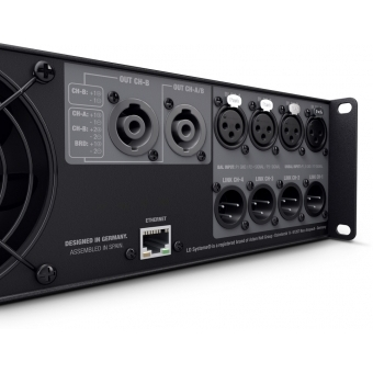 LD Systems DSP 45 K 4-Channel Power Amplifier with DSP #5