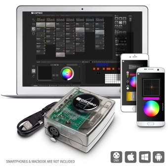 Cameo DVC 4 512-Channel DMX Interface and Control Software Package