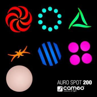 CAMEO AURO SPOT 200 LED Moving Head #12