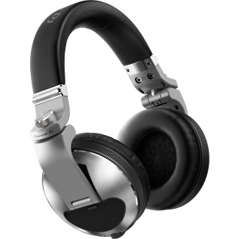 Pioneer HDJ-X10-S Flagship professional over-ear DJ headphones (SILVER) #2