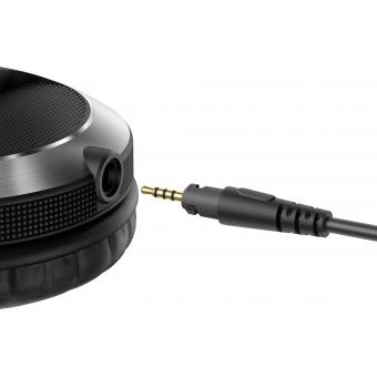 Pioneer HDJ-X7-S Professional over-ear DJ headphones (silver) + CADOU U9960 ULTIMATE HEADPHONE BAG #8