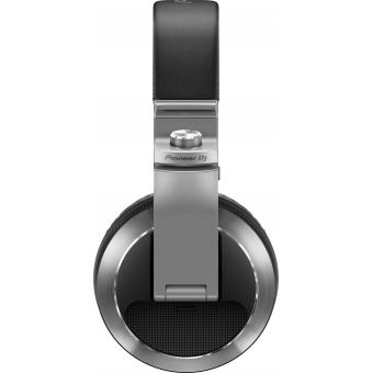 Pioneer HDJ-X7-S Professional over-ear DJ headphones (silver) + CADOU U9960 ULTIMATE HEADPHONE BAG #4