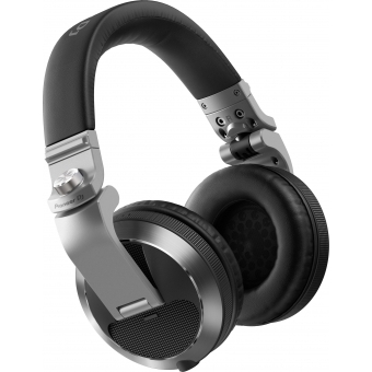 Pioneer HDJ-X7-S Professional over-ear DJ headphones (silver) #5