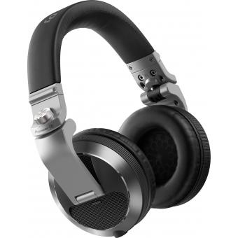 Pioneer HDJ-X7-S Professional over-ear DJ headphones (silver) + CADOU U9960 ULTIMATE HEADPHONE BAG #6