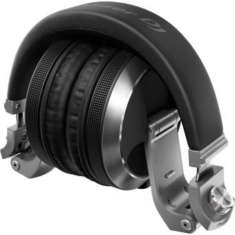 Pioneer HDJ-X7-S Professional over-ear DJ headphones (silver) + CADOU U9960 ULTIMATE HEADPHONE BAG #7