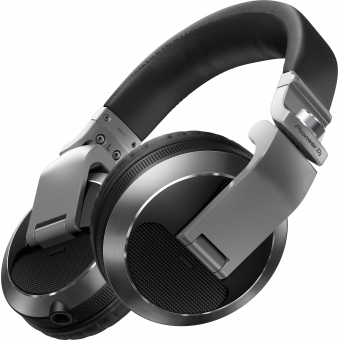 Pioneer HDJ-X7-S Professional over-ear DJ headphones (silver) #1