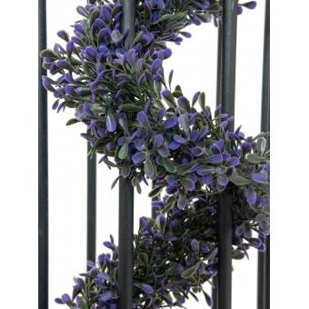 EUROPALMS Grass Garland, violet, 180cm #2