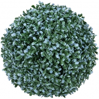 EUROPALMS Grass ball, blue, 22cm