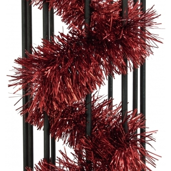 EUROPALMS Tinsel metallic, red, 7,5x200cm #2