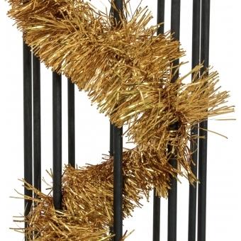 EUROPALMS Tinsel metallic, gold, 7,5x200cm #2