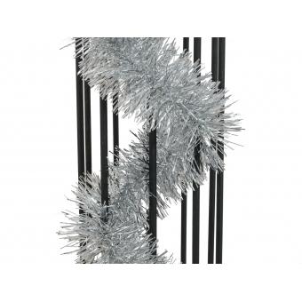 EUROPALMS Tinsel metallic, silver, 7,5x200cm #2