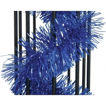EUROPALMS Tinsel metallic, blue, 7,5x200cm #2