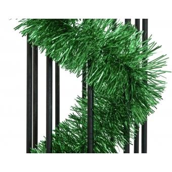 EUROPALMS Tinsel metallic, green, 7,5x200cm #2