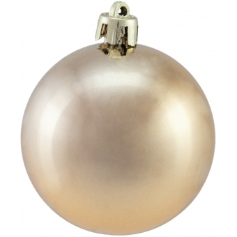 EUROPALMS Deco Ball 6cm, copper, metallic 6x