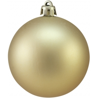 EUROPALMS Deco Ball 7cm, gold, matt 6x
