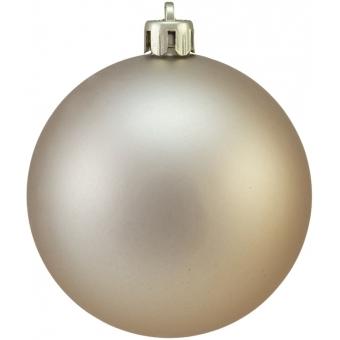 EUROPALMS Deco Ball 7cm, copper, matt 6x