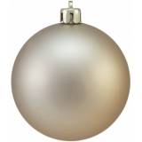 EUROPALMS Deco Ball 7cm, copper, matt 6x