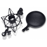LD Systems DSM 400 Microphone Shock Mount with Pop Filter