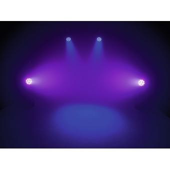 EUROLITE LED PAR-64 QCL 12x8W floor bl #6