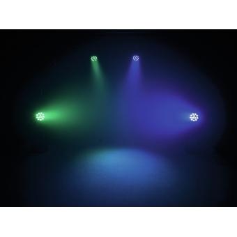 EUROLITE LED PAR-64 QCL 12x8W floor bl #8