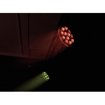 EUROLITE LED PAR-64 QCL 12x8W floor bl #10